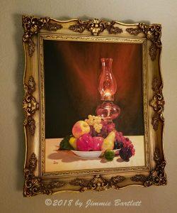 Fruit Under Lamp Light